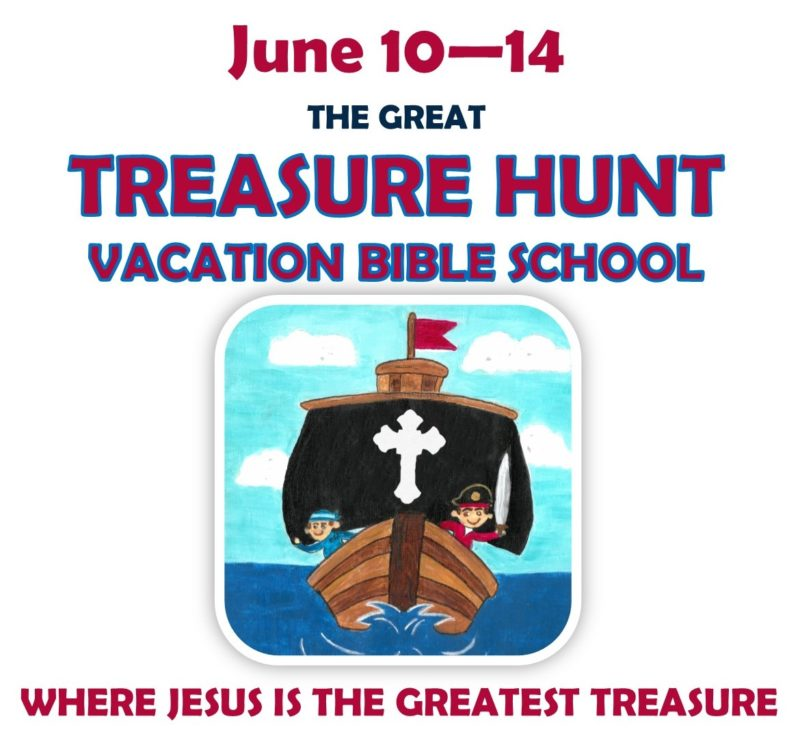 Vacation Bible School – The Great Treasure Hunt – St  Mark's